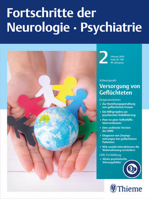Fortschritte der Neurologie · Psychiatrie