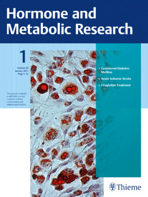 Hormone and Metabolic Research
