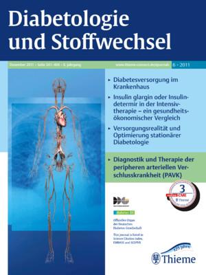 Diabetologie und Stoffwechsel 06/2011 - eRef, Thieme