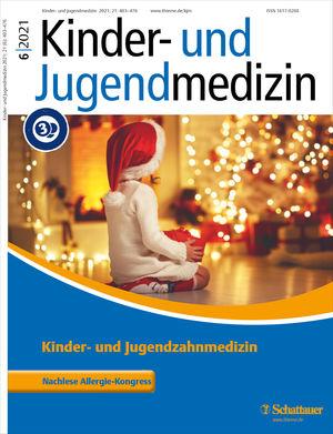 Cover Kinder- und Jugendmedizin