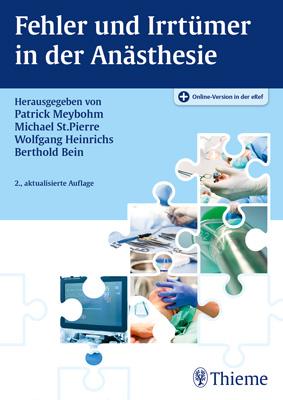 """Zeige Treffer in """"Fehler und Irrtümer in der Anästhesie"""""""