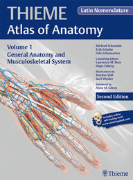 Thieme Atlas of Anatomy: Volume 1 General Anatomy and Musculoskeletal System (Latin)