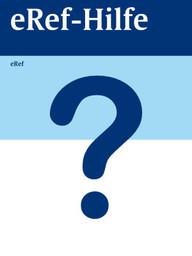 """Zeige Treffer in """"eRef-Hilfe"""""""
