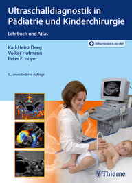 Ultraschalldiagnostik in Pädiatrie und Kinderchirurgie