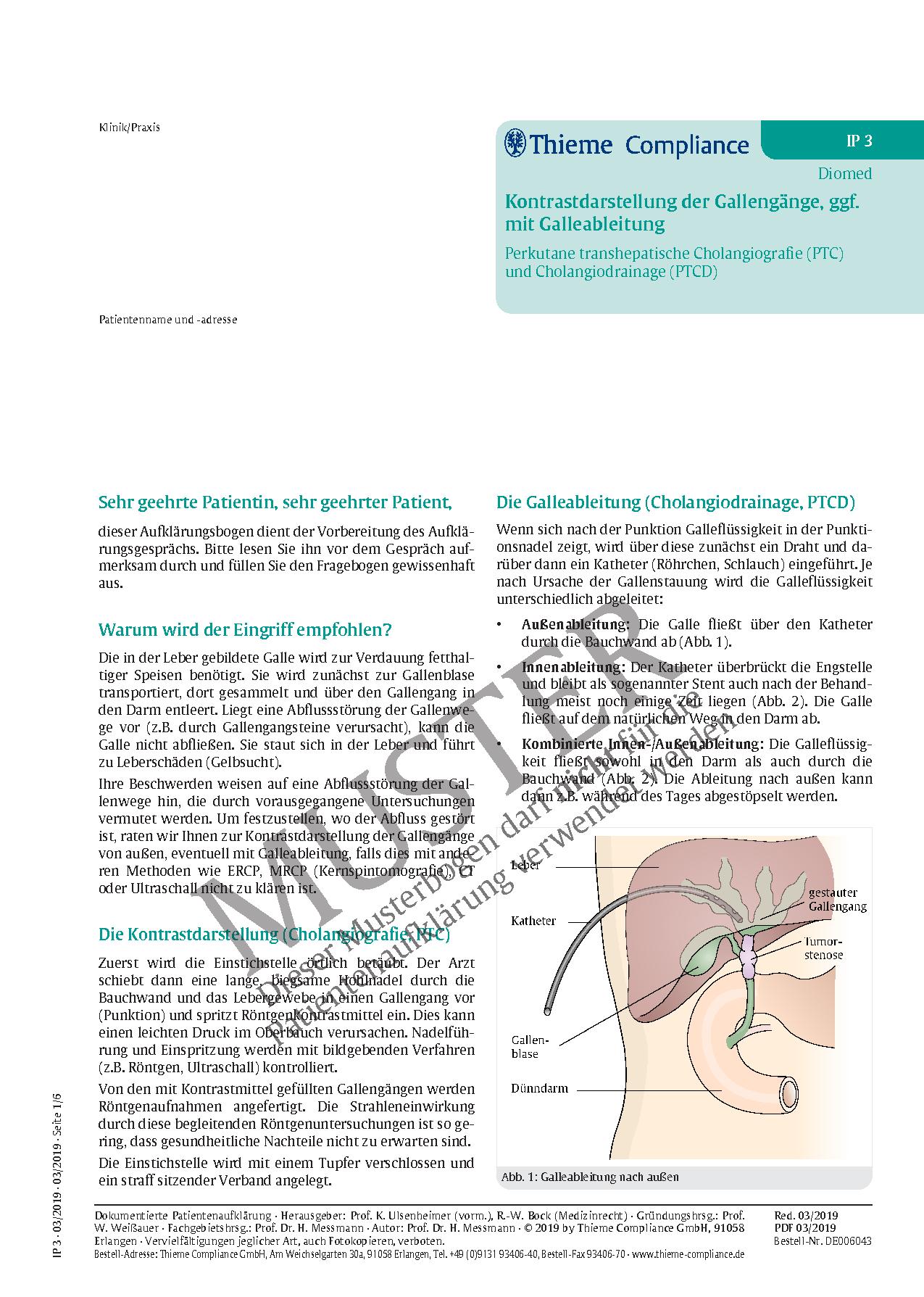 Fein Anatomie Der Gallengänge Und Der Leber Galerie - Physiologie ...