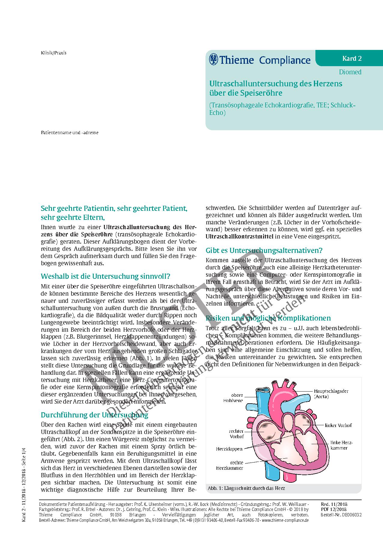 Beste Bild Des Blutflusses Durch Das Herz Galerie - Menschliche ...