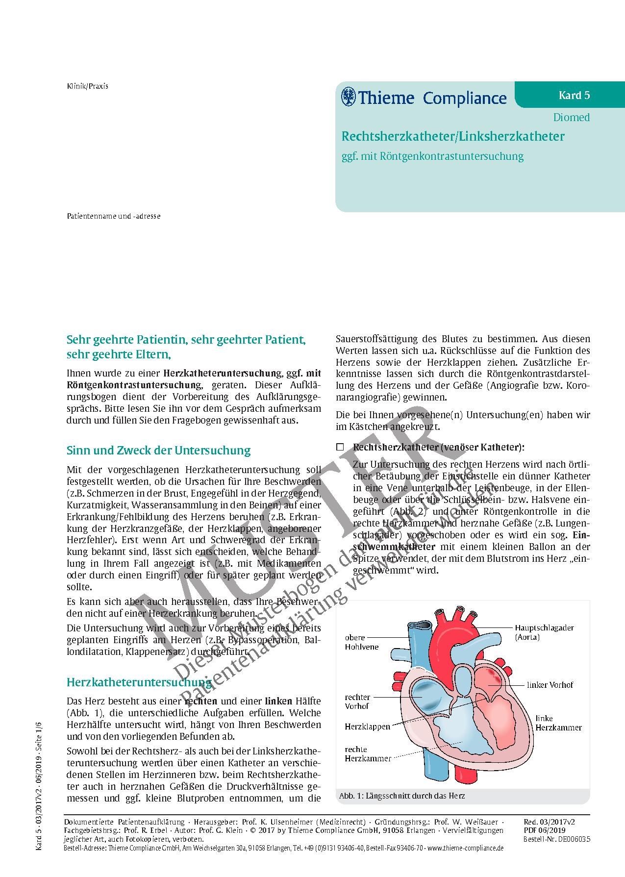 Beste Normaler Blutfluss Durch Herz Galerie - Anatomie Ideen ...