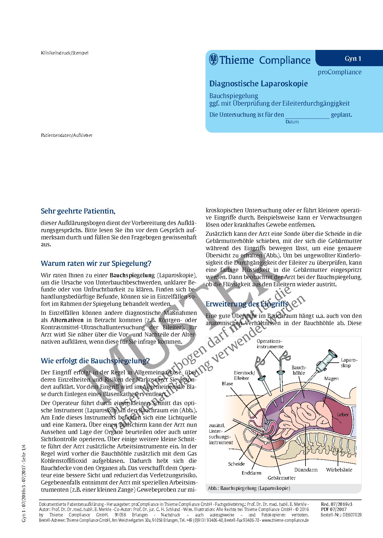 Ausgezeichnet Anatomie Eileiter Fotos - Anatomie Von Menschlichen ...