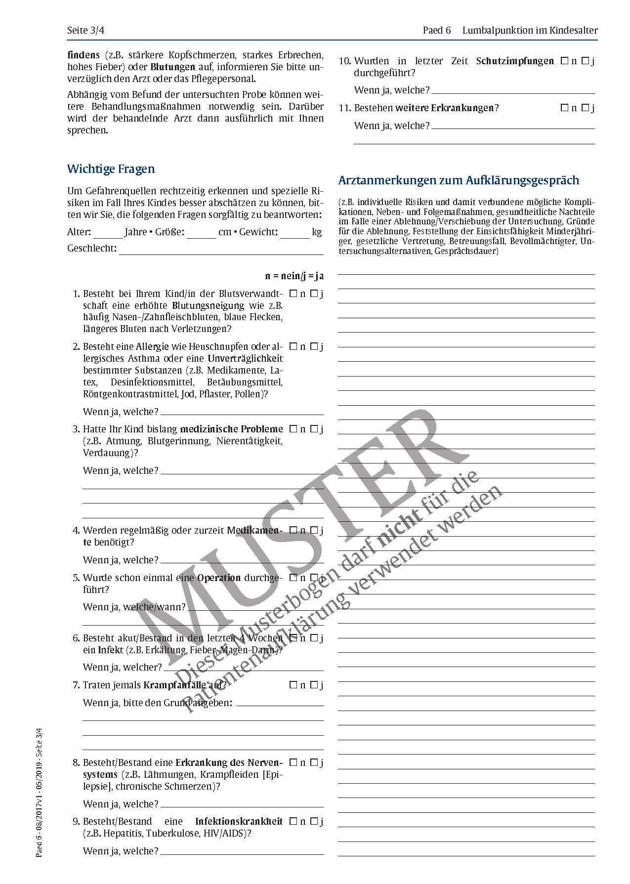 Gemütlich Anatomie Der Lumbalpunktion Zeitgenössisch - Anatomie ...