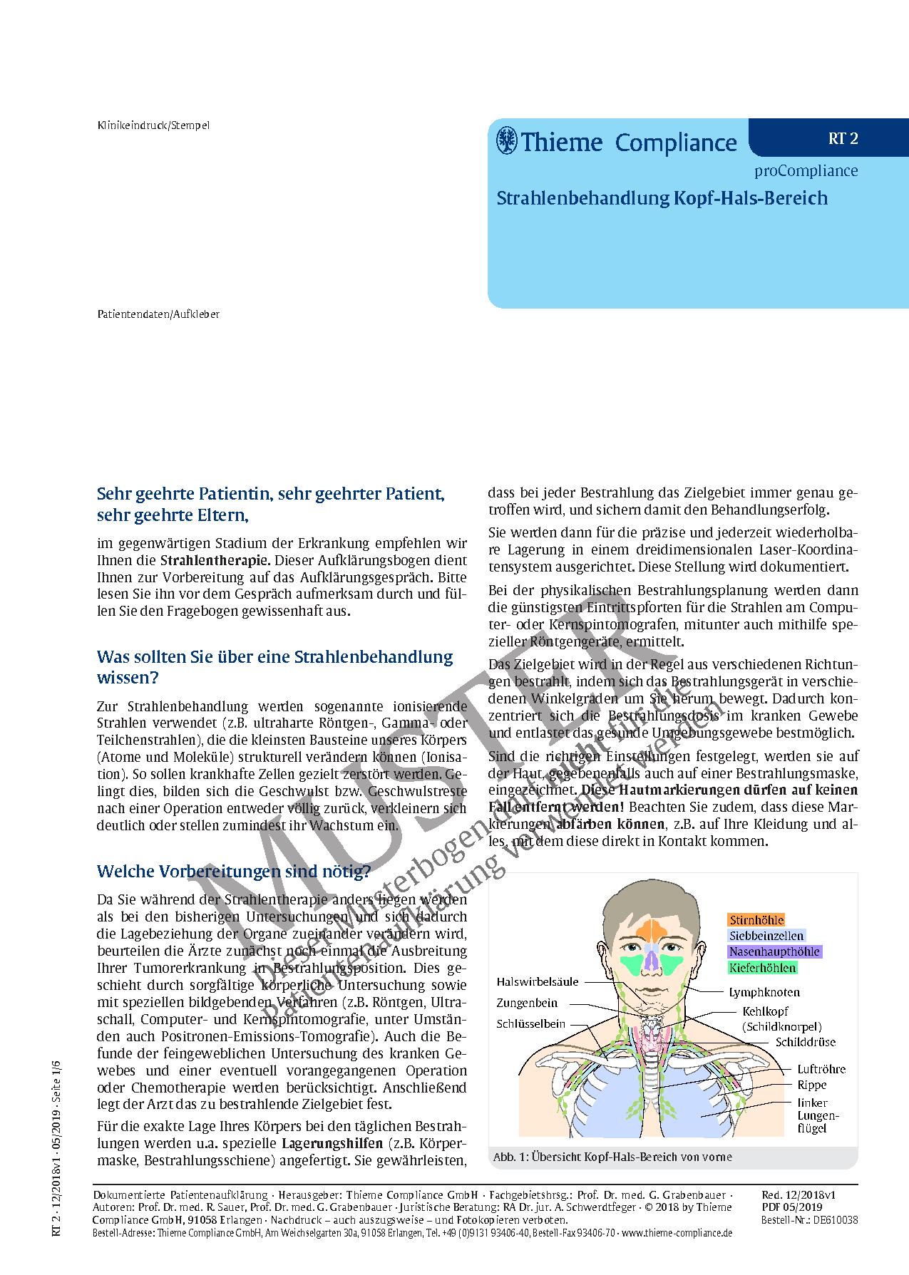 Großartig Kopf Und Hals Anatomie Videos Bilder - Anatomie Ideen ...