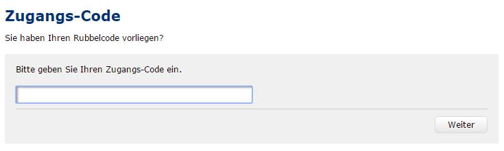 """671a91e320717 Geben Sie in dem folgenden Fenster Ihren Zugangscode ein und klicken Sie  auf """"Weiter""""."""